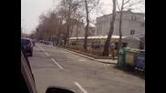 Протест!!! не на високите цени на горивата Бургас.