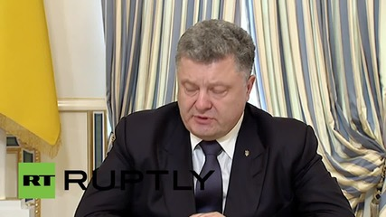 Ukraine: Poroshenko threatens Right Sector as stand-off continues
