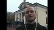 Мощите на Серафима Саровского в Запорожье 02.01.2011г