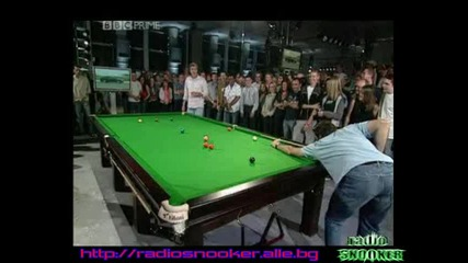 Snooker. - .funny.clips. - .ronnie.osullivan.in.top.gear