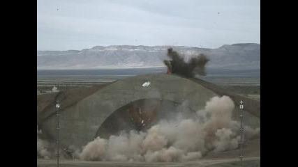 Взривяване На Самолетно Укритие