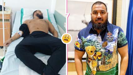 Азис уплаши феновете - в болница, на система е и не се знае кога ще излезе