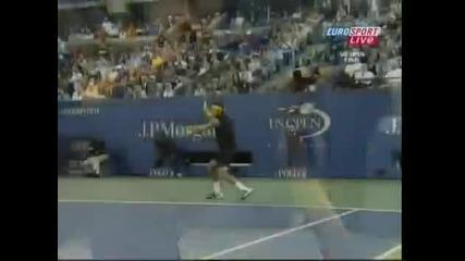 Del Potro печели Us Open срещу Roger Federer !! мач