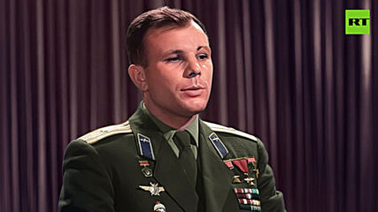 'May there be peace': WATCH Yuri Gagarin's iconic speech on 1st anniversary of his space flight, now IN COLOR *PARTNER CONTENT*