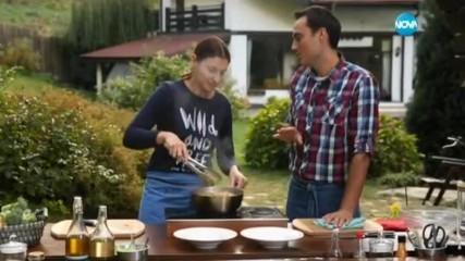 Нудли с телешко и броколи - Бон Апети (19.10.2016)