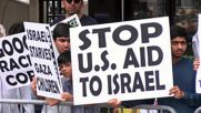 USA: Protesters come out in solidarity with Palestine on al-Quds day