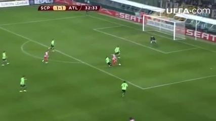 Спортинг Лисабон - Атлетико Мадрид 2:2