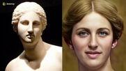Антични статуи, митични герои и фараони, съживени с помощта на изкуствения интелект