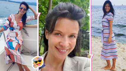 Яна Маринова с бягство на един от най-красивите родни острови