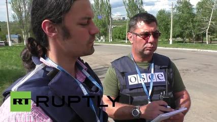Ukraine: OSCE examines aftermath of alleged shelling in Gorlovka