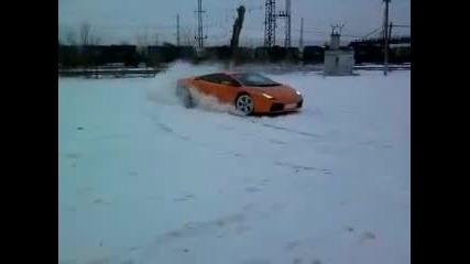 Lamborghini Gallardo drift