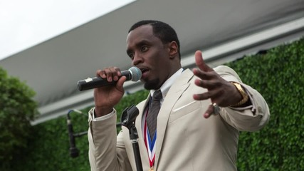 """Sean """"Diddy"""" Combs Arrested for Assualt With a Kettle Bell at UCLA"""