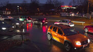 Germany: Protesters from Querdenken movement hold car rally in Stuttgart