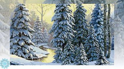 Суровый февраль! Манящая даль! Красивая зимняя природа!