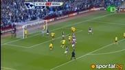 Астън Вила 2:4 Арсенал
