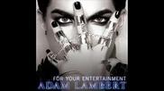 Lyrics!!adam Lambert - For Your Entertainment (music Video) nai - pesen na adam lambert