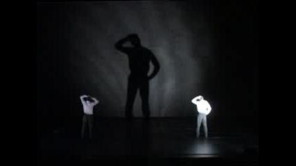 Sofia Dance Week 2008. Сцена от спектакъла на Compagnie 111 (Франция) - От плюс до минус безкрайност