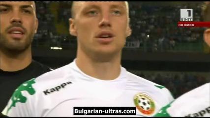 Прандели прекъсна освиркванията на българския химн