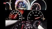 От 0 до 250: Audi Rs6 vs Bmw M5 vs Mercedes E63 S