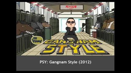 Psy _gangnam Style_ lyrics
