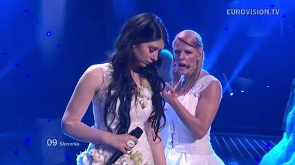 Словения / Eva Boto - Verjamem / Live - Евровизия 2012