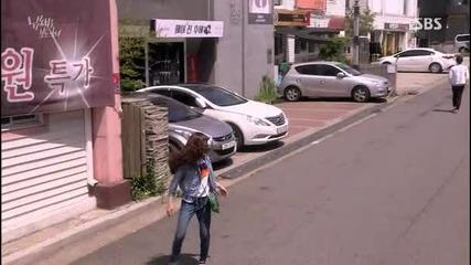 [бг субс] The girl who can see smells / Момичето, което вижда миризми (2015) Епизод 13