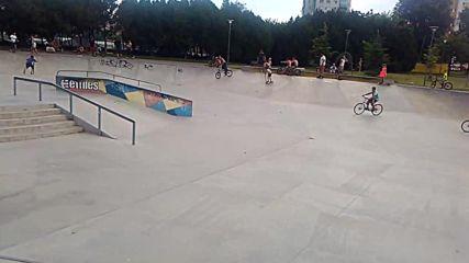 """Скейт парк """"Изгрев"""" - Бургас"""