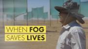 Cloud hunter: The lone hero making water in the desert