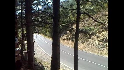 рали сливен 2012-гледаите на първия завои ко прай