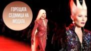 Дафни Гинес присъства на Седмицата на модата в Ню Йорк