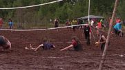 Russia: Play it dirty - swamp volleyball championship kicks off in Leningrad region