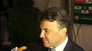 Боби Михайлов: Много силен мач за нас, във вторник ще е тежко