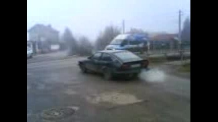 Alfetta Gtv 2000 Burnout