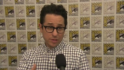 'Star Wars: The Force Awakens' Director JJ Abrams At Comic-Con