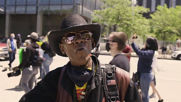 USA: Tear gas disperses George Floyd protesters outside Cleveland's Justice Center