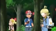 Pokemon X и Y Епизод 3 , Битката от разтояние.