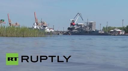 Latvia: NATO warships dock in Riga on final day of Eastern Partnership Summit