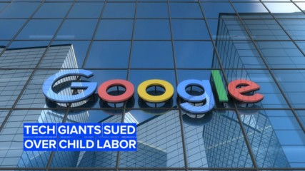 Apple and Google are being sued over alleged child labor