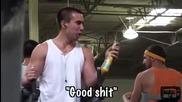 вижте как този човек се мотивира за фитнес