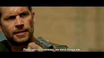 Пол Уокър в '' Престъпно предградие / Brick Mansions'' (2014) - със субтитри