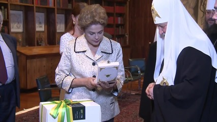 Brazil: Patriarch Kirill meets President Rousseff in Brasilia