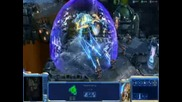 Starcraft 2 Gameplay Video+субтитри Part3