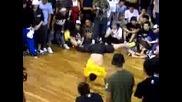 Jap Bboy vs Spee - D @ bboy summit