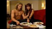 Wwe John Cena Пребива Edge В Хотелската Му Стая