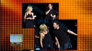 Gillian Anderson and David Duchovny Lock Lips!