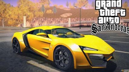 Gta San Andreas - Fast And Furious 7 Mod