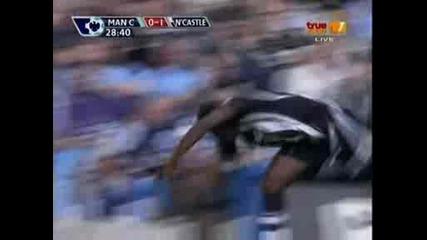 Newcastle Martins - Man City 0 - 1