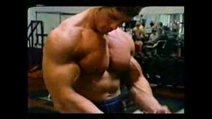 Перфекните мускули невероятно тяло