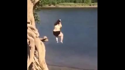 Паднах макло ас - дебелана не уцели морето