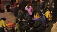 China: Thousands remain stranded at Guangzhou rail station ahead of CNY